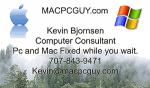 www.MacPcGuy.com - Local Computer Consultant