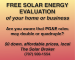 Free solar energy evaluation of your home, land, or business